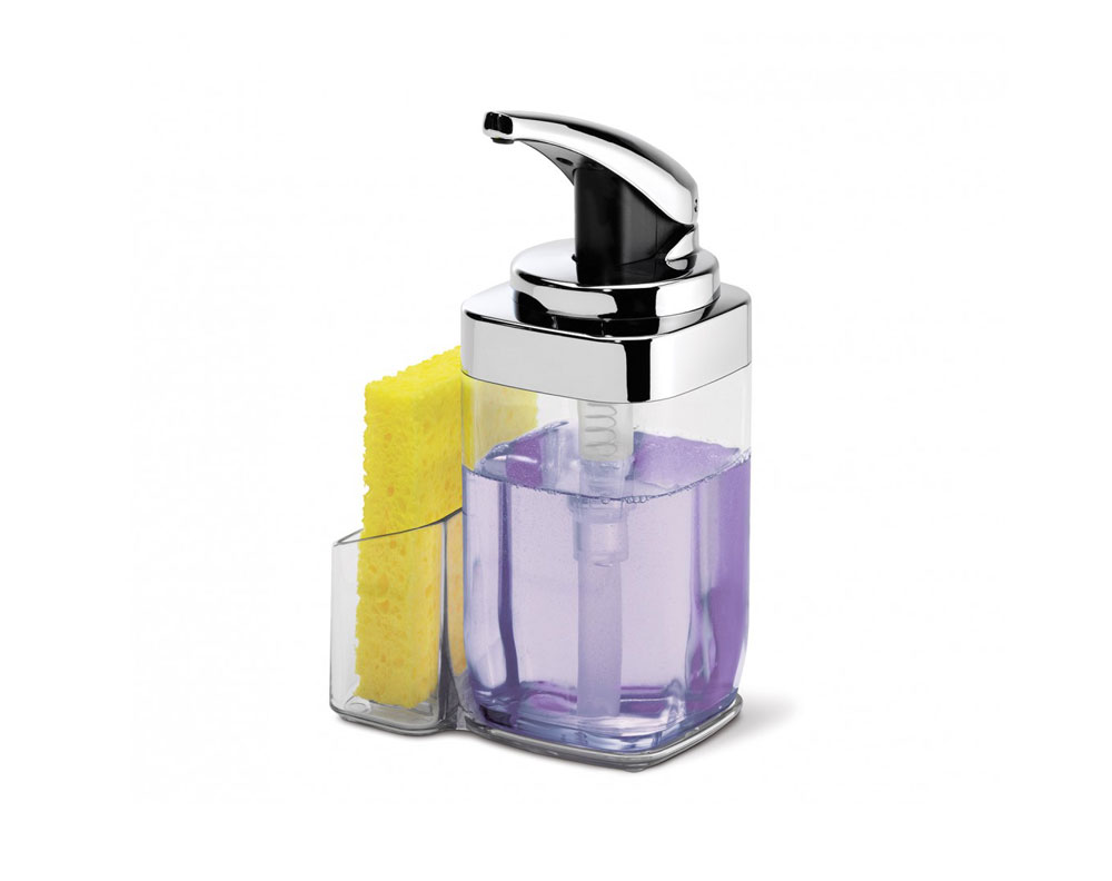 Simplehuman Clear Square Push Soap Dispenser Review