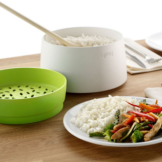 Lekue Microwave Rice and Grain Cooker