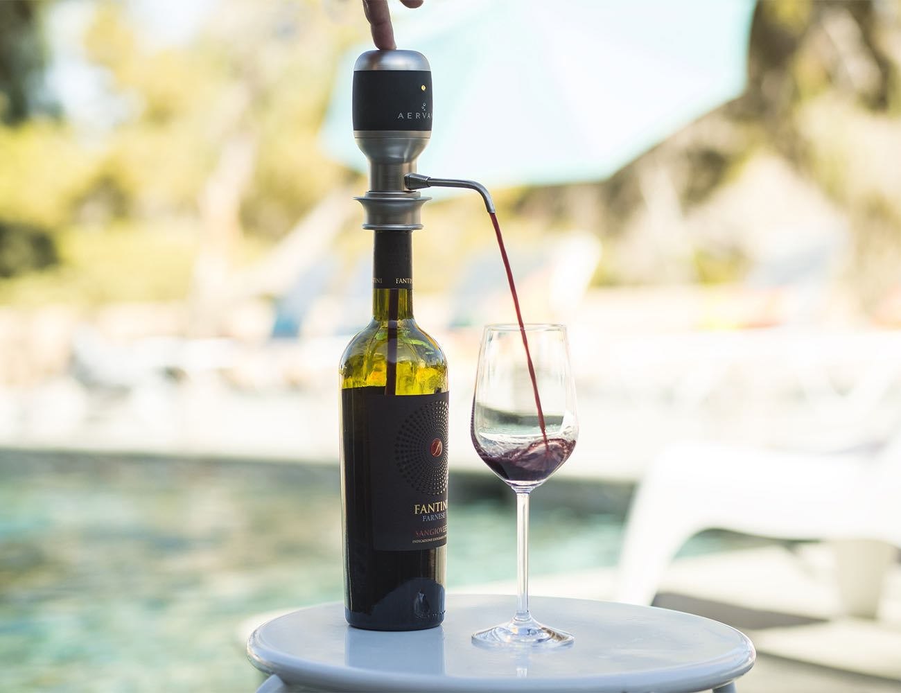 Aervana - The Worlds First Electric Wine Aerator