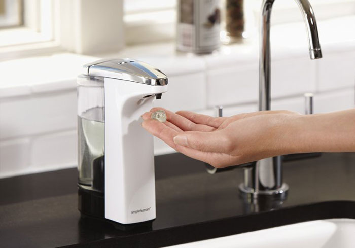 We review the best hand soap dispensers on the market for your kitchen, from automatic no touch soap dispensers to traditional push pump dispensers.