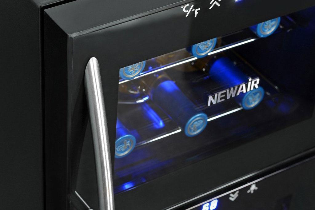NewAir AW210ED Streamline 21 Bottle Dual