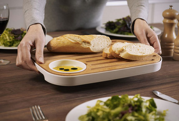 Slice & Serve - Bread and Cheese Board by Joseph Joseph