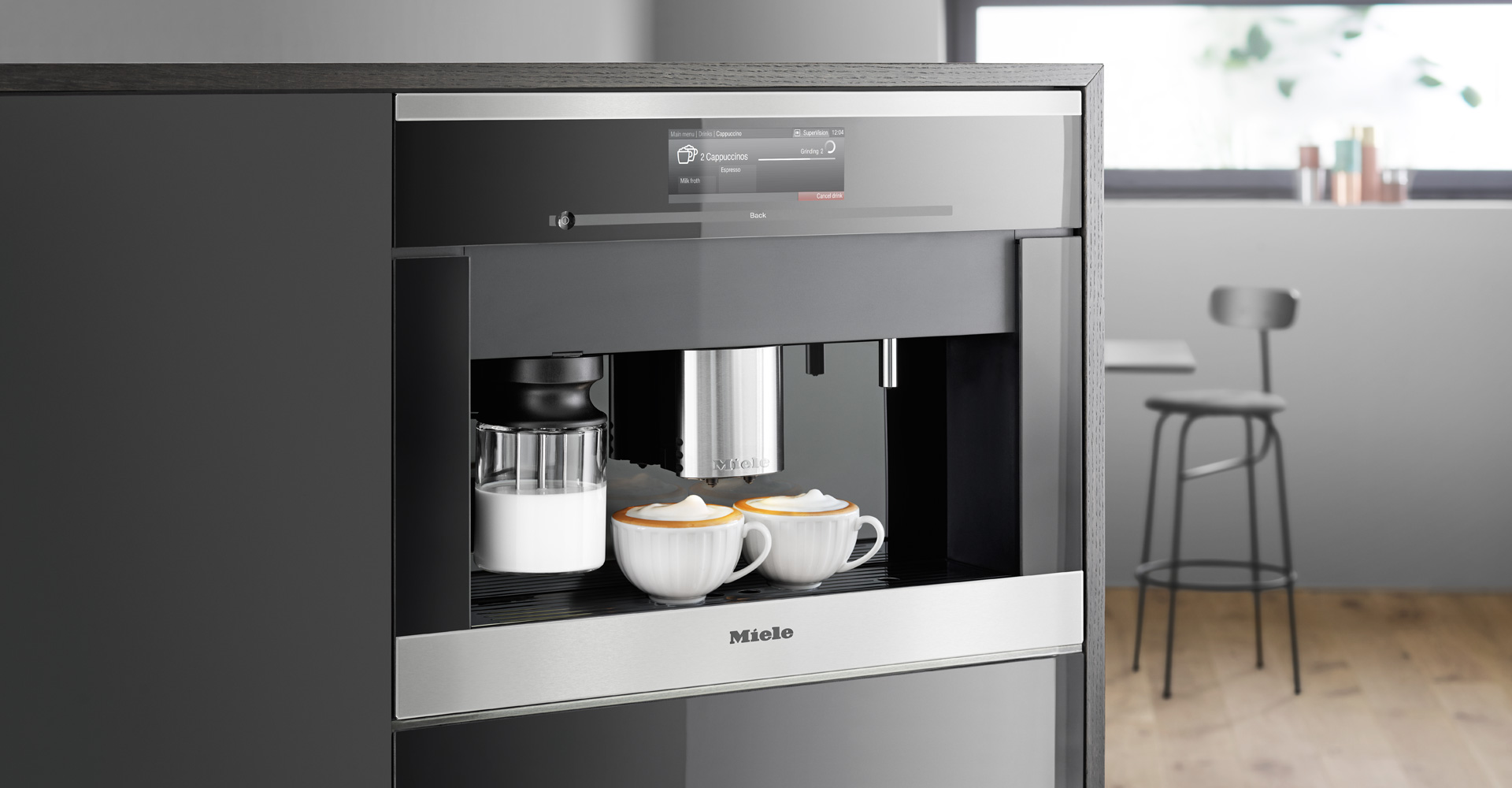 We checkout and review some of the top Built-in and integrated coffee machines from popular brands such as SMEG, NEF and Whirlpool.