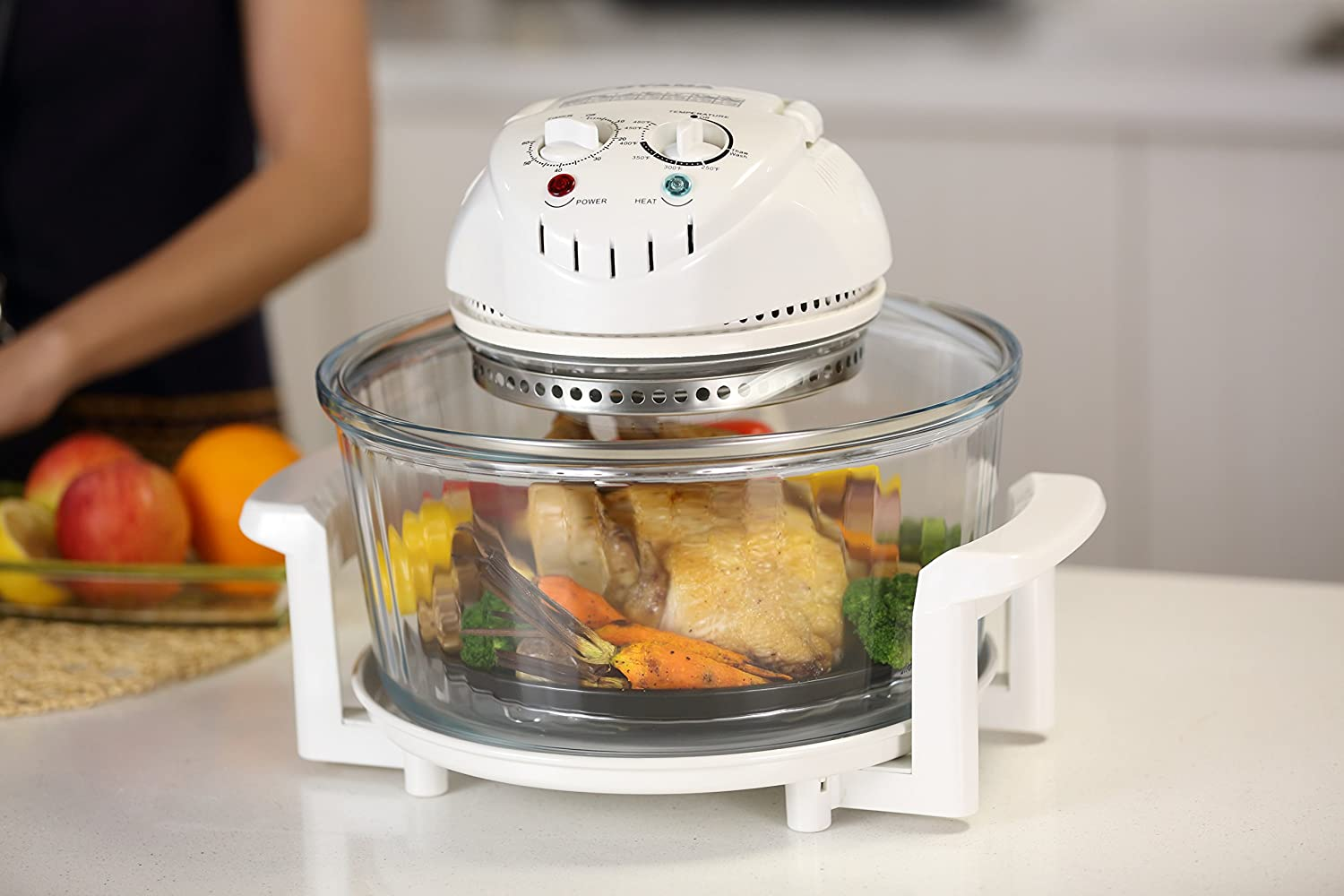 If you want to try out a halogen oven, we picked all of the best ones and reviewed them in this list. Be sure to keep reading if you want to learn more!